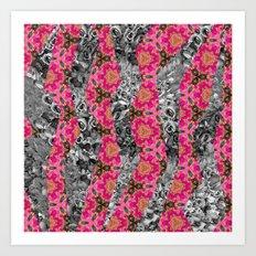 Geometric Spring Art Print