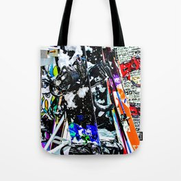 A Mess of Color Tote Bag