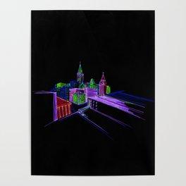 Vibrant city 3 Poster