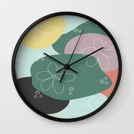Floralism 2 Wall Clock