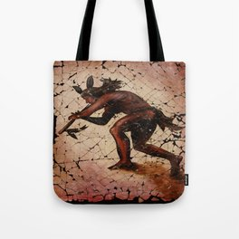 Kokopelli, The Flute Player. Tote Bag