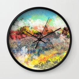 A Less Ordinary Landscape Wall Clock