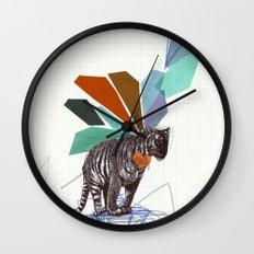 T I G E R Wall Clock