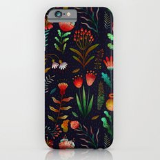 Bright flowers iPhone 6s Slim Case