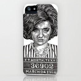 Big Hair Texas Trouble iPhone Case