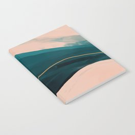 California Watercolor Winter Notebook