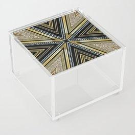 Glam Cross Star Acrylic Box