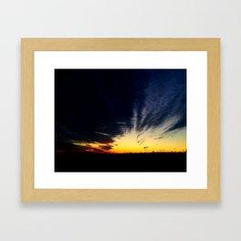 Sunset 3 Framed Art Print