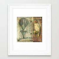 voyage Framed Art Prints featuring Voyage by Aimee Stewart
