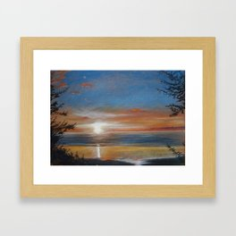 Summer Stunner Framed Art Print