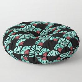 Turquoise Night Floor Pillow