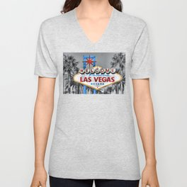 Welcome to Fabulous Las Vegas Unisex V-Neck