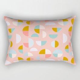 Playful Geometry Rectangular Pillow