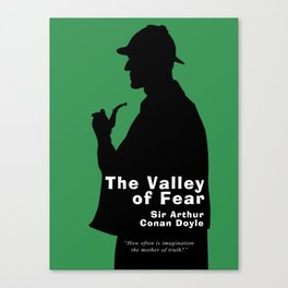 The Valley of Fear - Sherlock Holmes Canvas Print