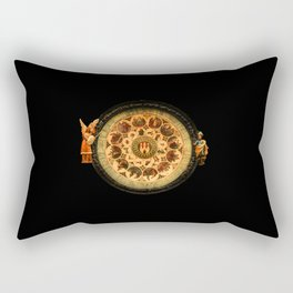 vintage clock_13 Rectangular Pillow