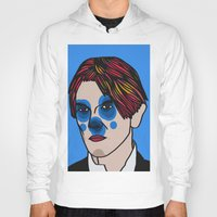 david bowie Hoodies featuring David Bowie by Arnaud Pagès