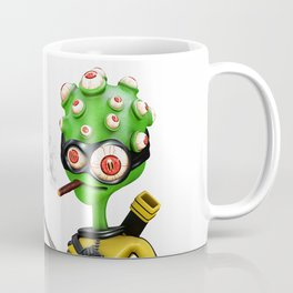 Kung-fu Alien Coffee Mug
