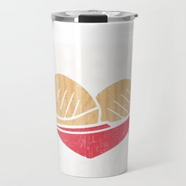 Arepa Is My Valentine Funny Gift for Valentines Day graphic Travel Mug