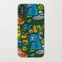 ice cream iPhone & iPod Cases featuring Ice Cream by Chris Piascik