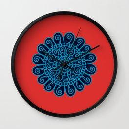 Dedication Swiss Mandala Wall Clock