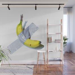 Banana Duct-taped Wall Mural