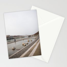 Un matin d'hiver Stationery Cards