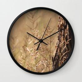 Summer Grass and Tree Wall Clock