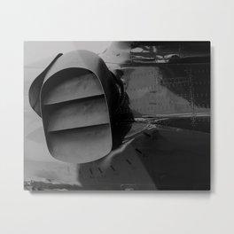 Nozzle Gradient Metal Print