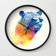 Sunny Bear Wall Clock