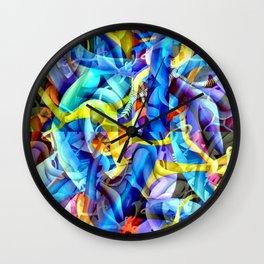 Depths and illusions Wall Clock