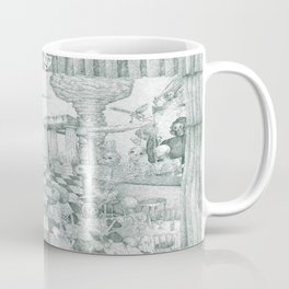 Don't Worry Be Happy 3 (Who Forgets The Past Is Condemned To Repeat It) Coffee Mug