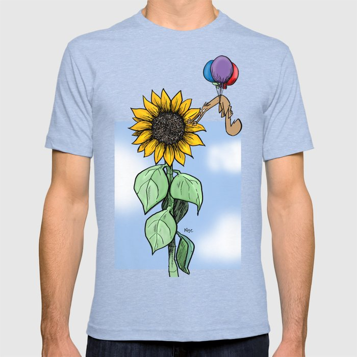 Floating toward a dream T-shirt
