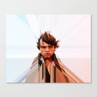 luke hemmings Canvas Prints featuring Luke by Tom Johnson