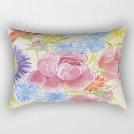 Pretty Bouquet Rectangular Pillow