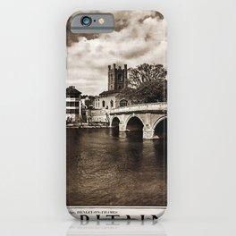 retro Britain iPhone Case