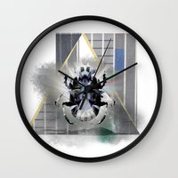 egypt Wall Clocks featuring egypt by Gabriele Omar Lakhal