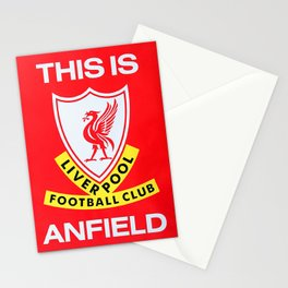 This is Anfield - Liverpool Classic Logo Stationery Cards