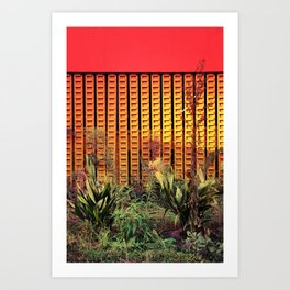 Plants from outer space - Los Angeles #89 Art Print