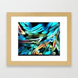The Scarf Framed Art Print