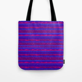 Violet Pattern Tote Bag