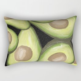 Magical Avocado Rectangular Pillow