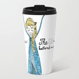 Elsa (frozen) by Ashley Nada Travel Mug