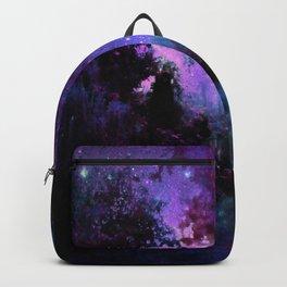 Fantasy Path Purple Backpack