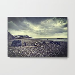 Boat of Stones  Metal Print