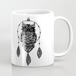 Dream Catcher Owl Coffee Mug