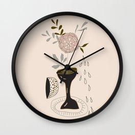 Neutral Still Life Wall Clock