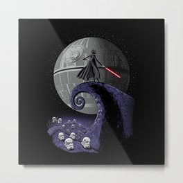 The Nightmare Before Empire Metal Print