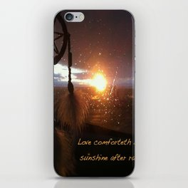 Catch the Sunset iPhone Skin