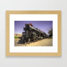 Santa Fe Steam  Framed Art Print