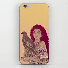 Falcon Lady iPhone Skin